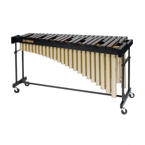 Yamaha 3.5 Octave Padouk Marimba, C-F with drop cover