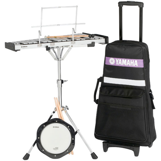 Yamaha Student Bell Kit with Rolling Cart