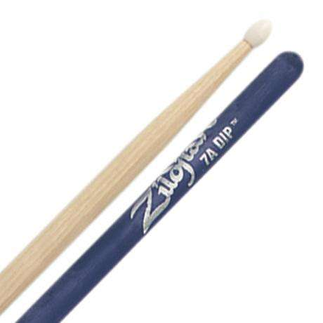 Zildjian Dip Series 7A Nylon Tip Purple Drumsticks