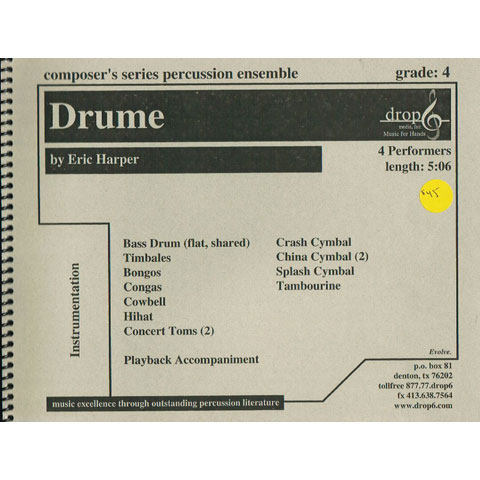 Drume by Eric Harper