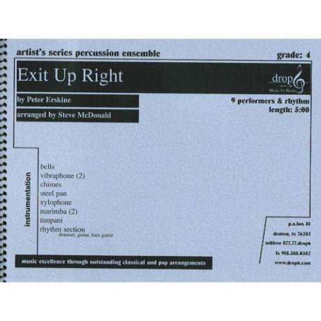 Exit Up Right Peter Erskine arr. Steve McDonald