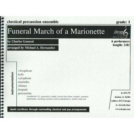 Funeral March of a Marionette by Gounod arr. Hernandez