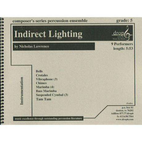 Indirect Lighting by Nicholas Lawrence