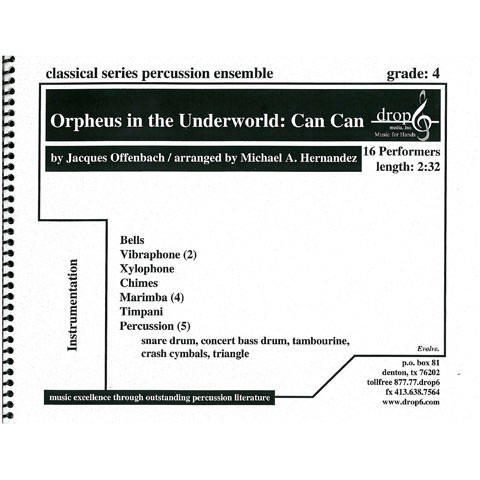 Orpheus in the Underworld: Can Can by Offenbach arr. Hernandez