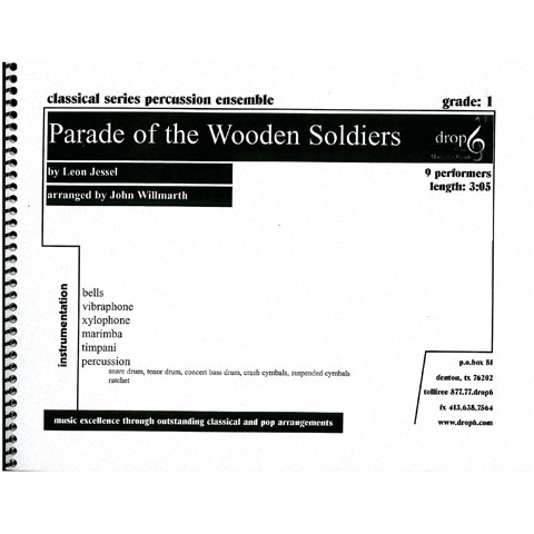 Parade of the Wooden Soldiers by Leon Jessel arr. Willmarth