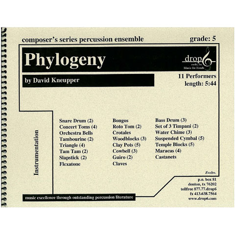 Phylogeny by David Kneupper