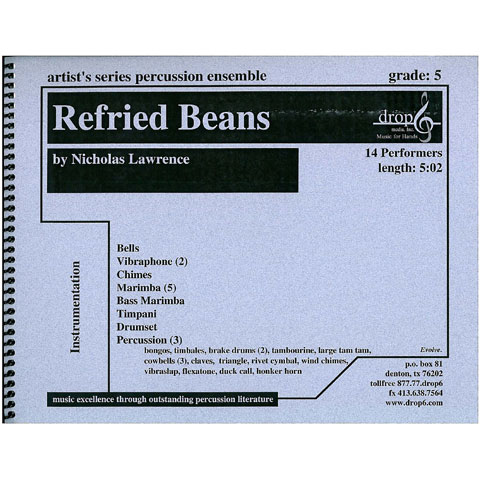 Refried Beans by Nicholas Lawrence