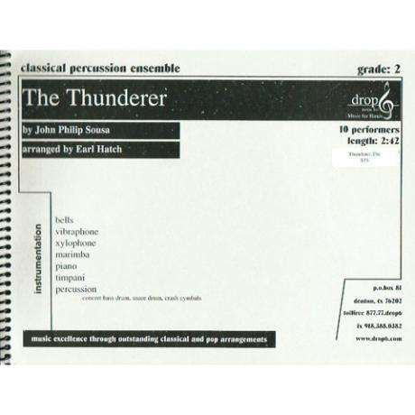 The Thunderer by John Philip Sousa arr. Earl Hatch