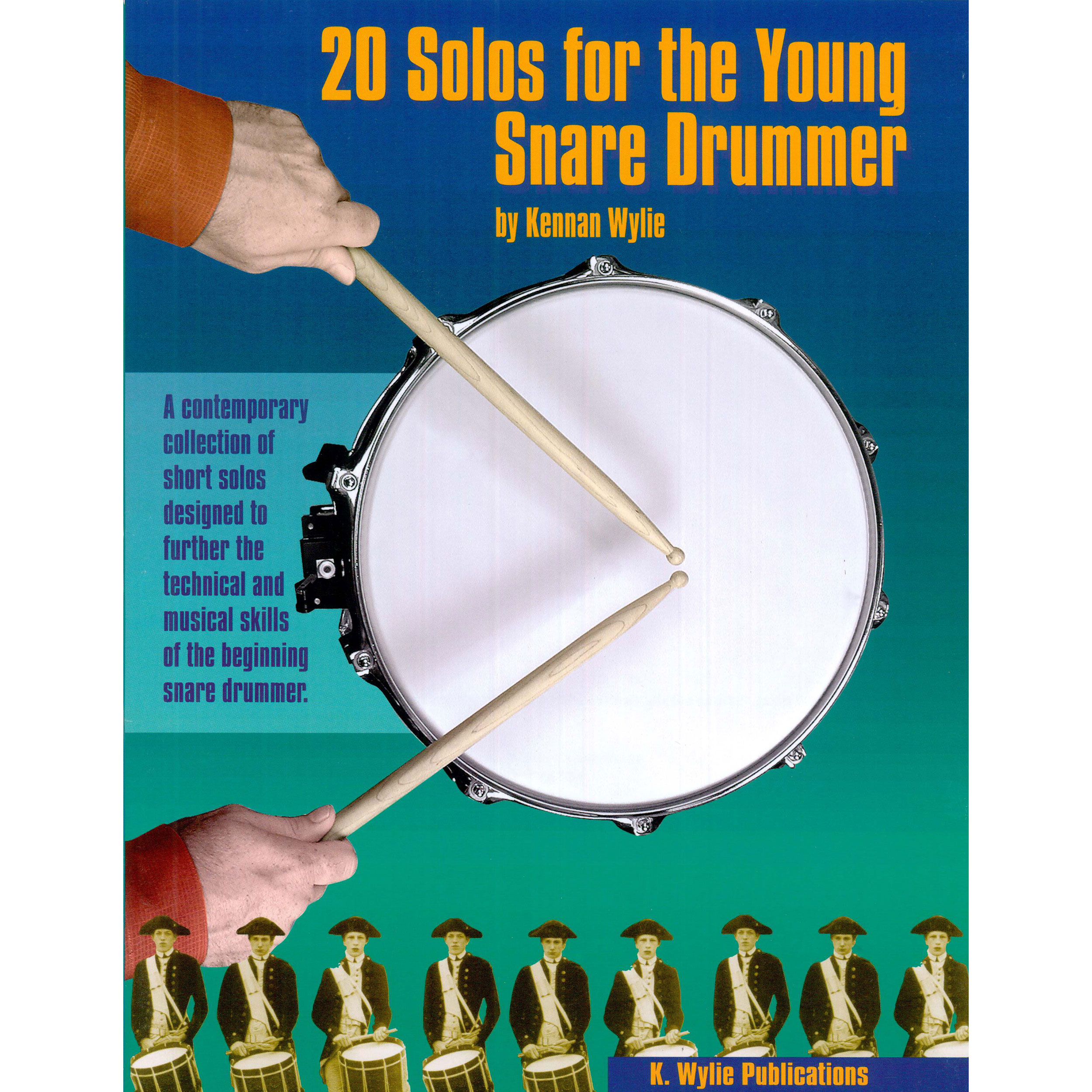 20 Solos for the Young Snare Drummer by Kennan Wylie