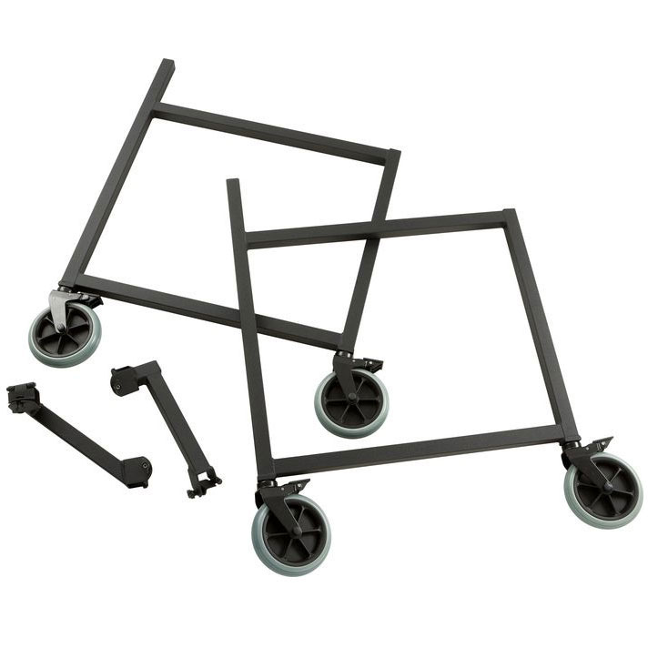 Adams Fixed Side Panels with Wheels and Corner Brace