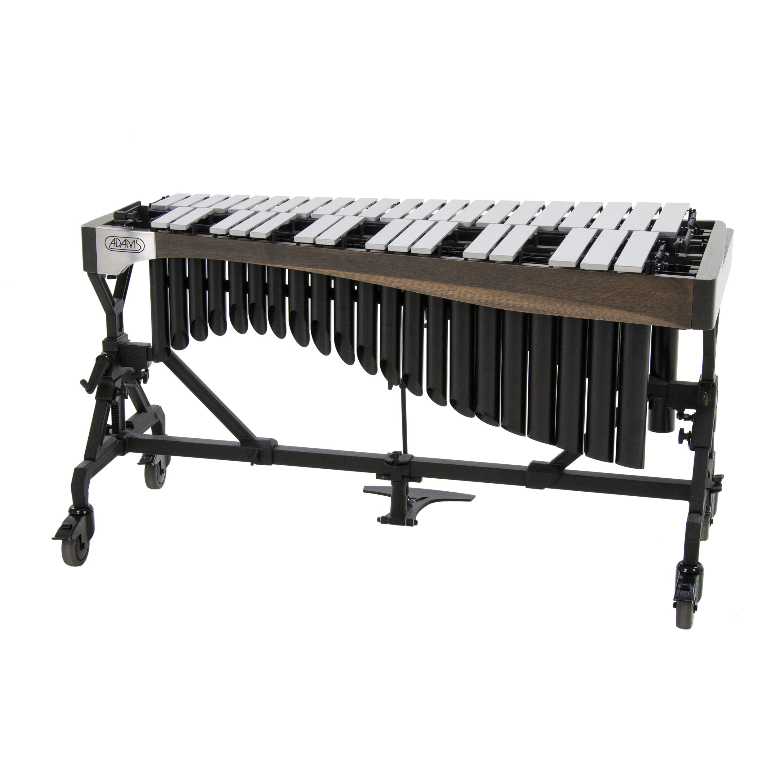 Adams 3.0 Octave Alpha Series Vibraphone with Silver Bars, Traveler Frame, and Motor