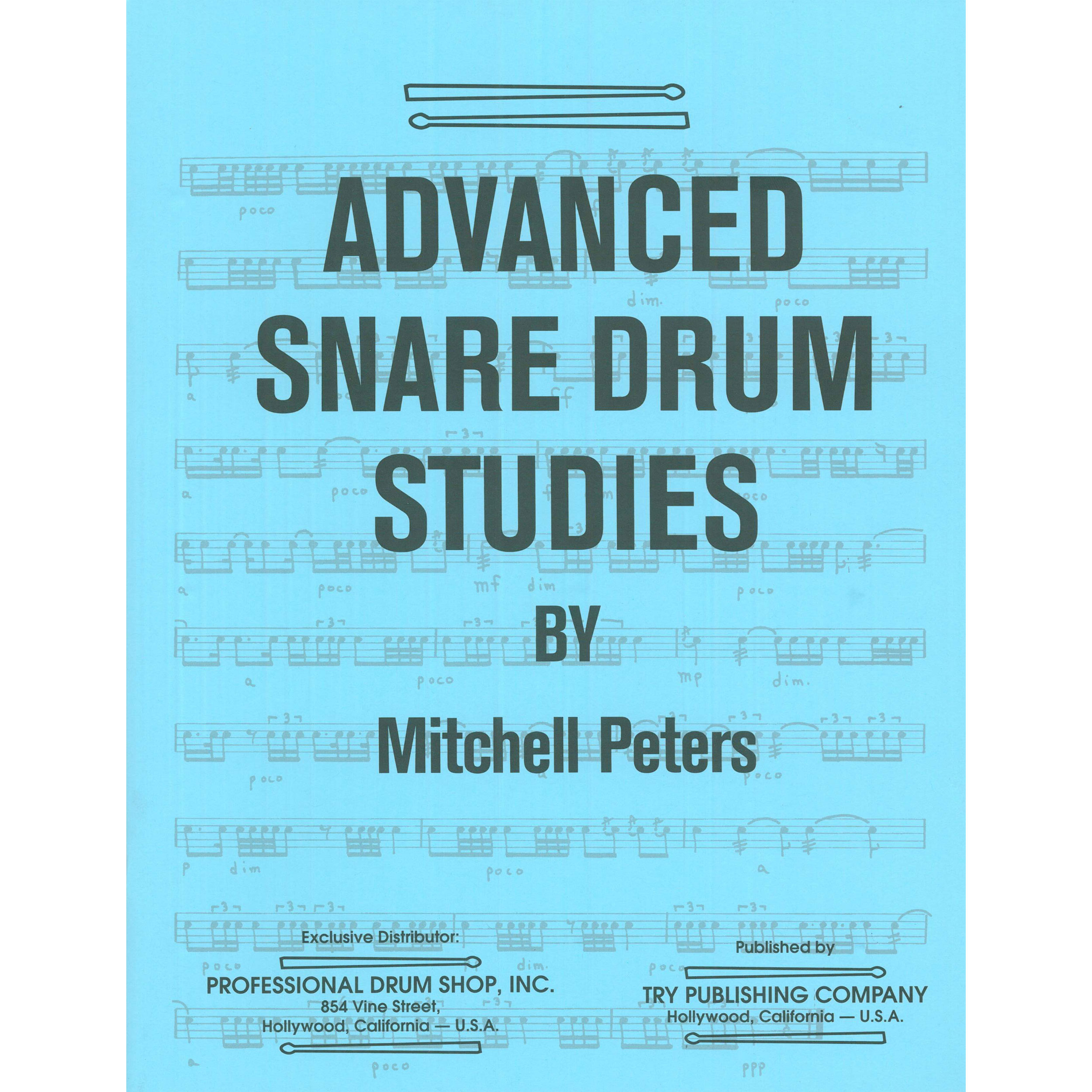 - Advanced-Snare-Drum-Studies-by-Peters