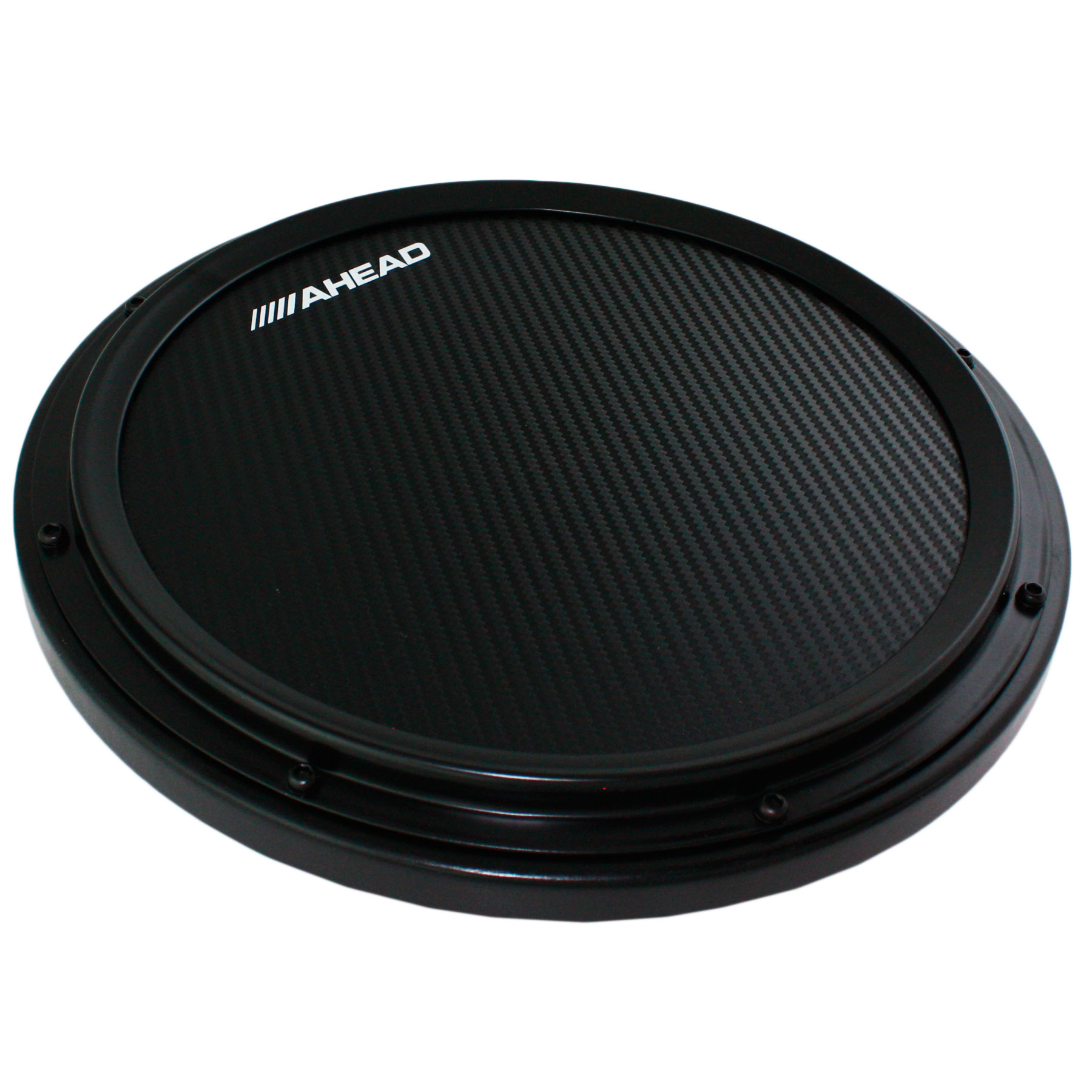 ahead 14 black s hoop marching practice pad with snare sound ahshp b. Black Bedroom Furniture Sets. Home Design Ideas