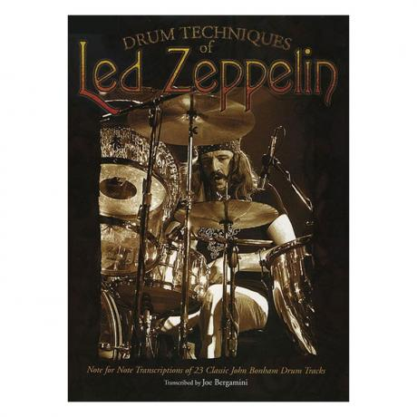 Drum Techniques of Led Zeppelin by Joe Bergamini