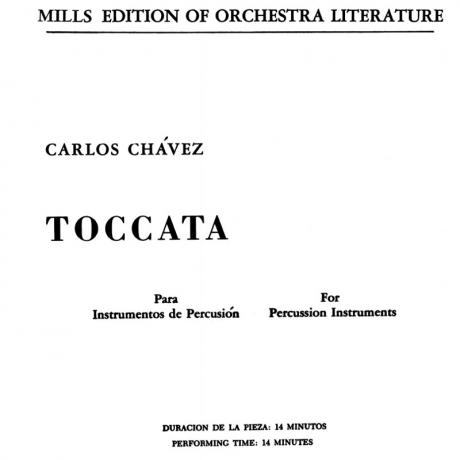 Toccata by Carlos Chavez