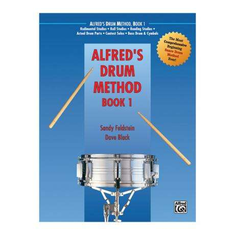 Alfred's Drum Method - Book 1 by Sandy Feldstein and David Black