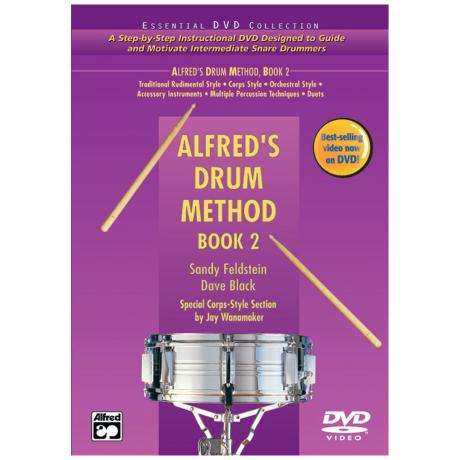 Alfred's Drum Method - Book 2 by David Black and Sandy Feldstein