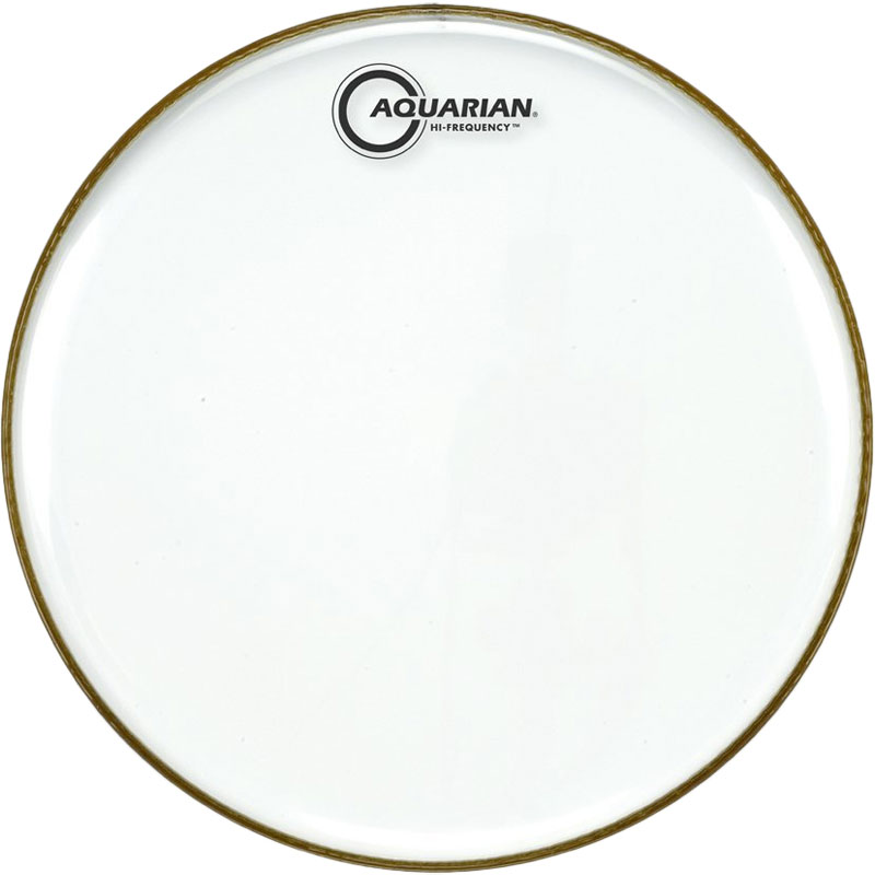 "Aquarian 12"" Hi-Frequency Clear Drum Head"
