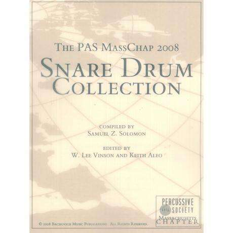 The PAS MassChap 2008 Snare Drum Collection compiled by Samuel Solomon