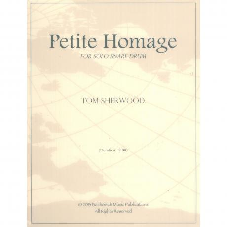 Petite Homage by Tom Sherwood