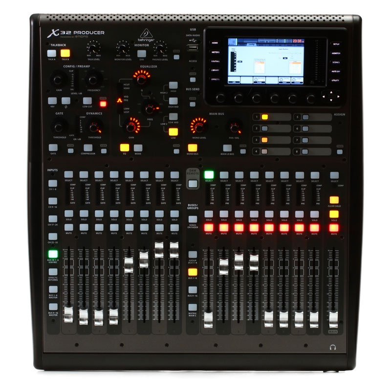 Behringer 40-Input Rack-Mountable Digital Mixing Console