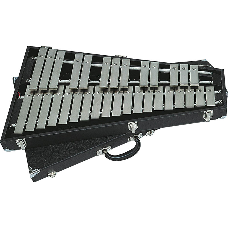 Bergerault 2.5 Octave Performance Series Glockenspiel with Vinyl Covered Wood Case