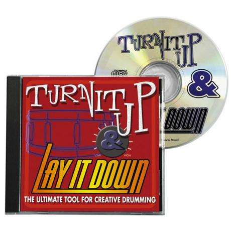 DrumFun Turn It Up & Lay It Down Vol. 1 CD