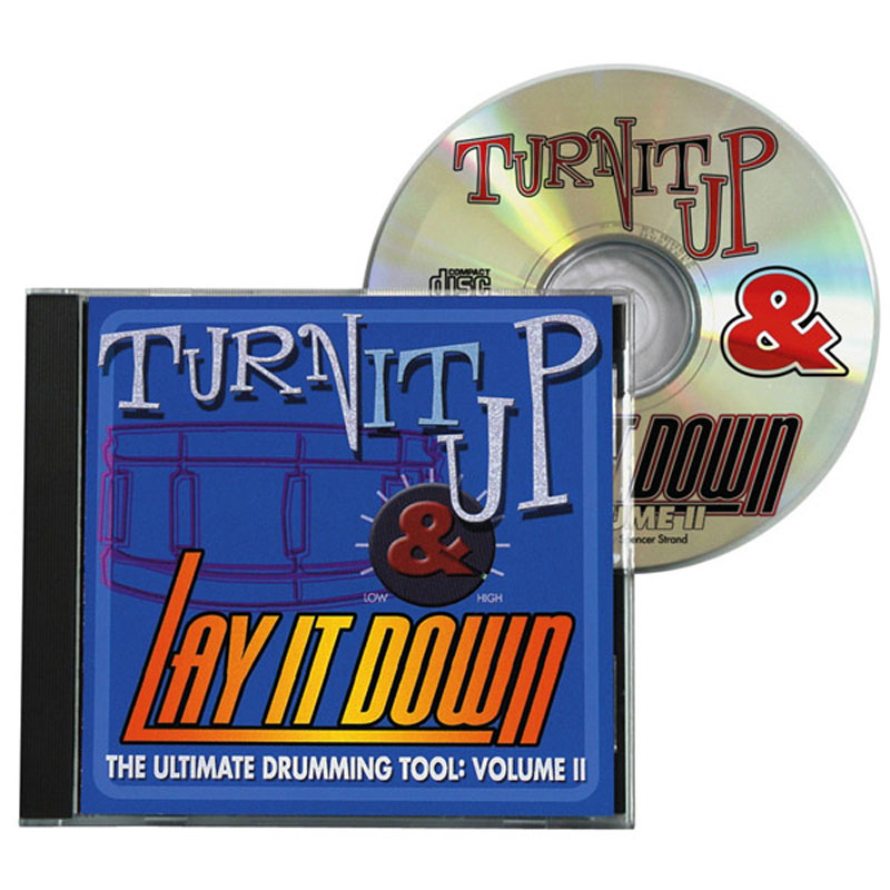 DrumFun Turn It Up & Lay It Down Vol. 2 CD