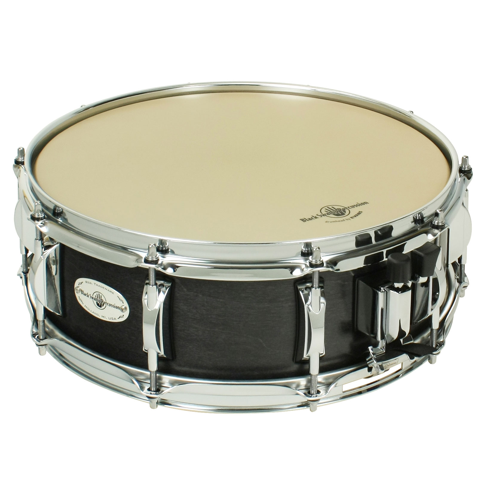 "Black Swamp 5"" x 14"" Concert Maple Snare Drum"