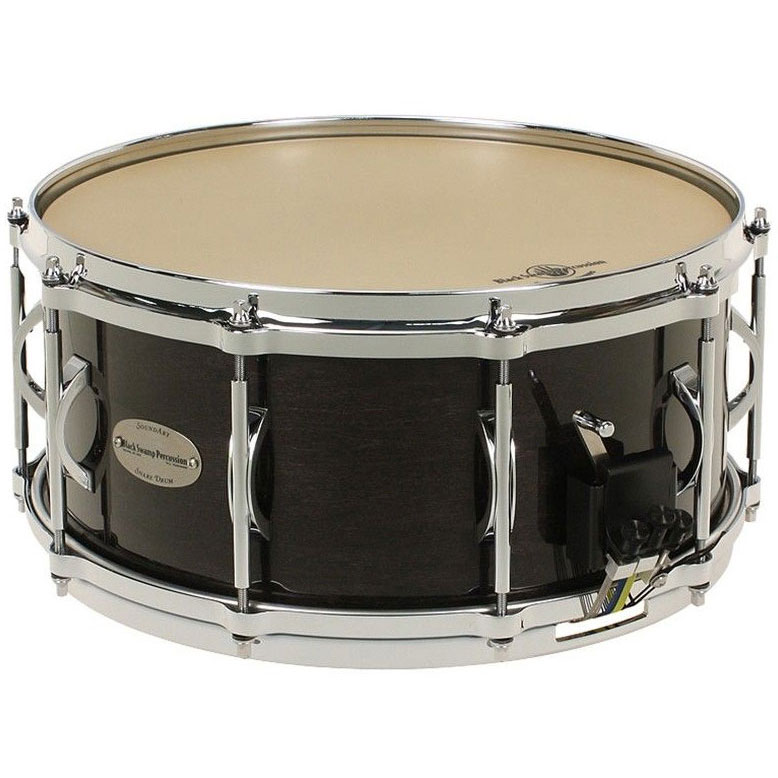 "Black Swamp 4.5"" x 13"" SoundArt Maple Concert Snare Drum with Die-Cast Hoops"