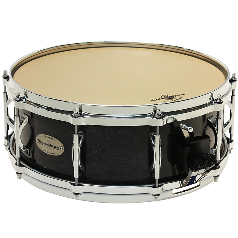 "Black Swamp 5.5"" x 14"" SoundArt Maple Concert Snare Drum with Die-Cast Hoops"