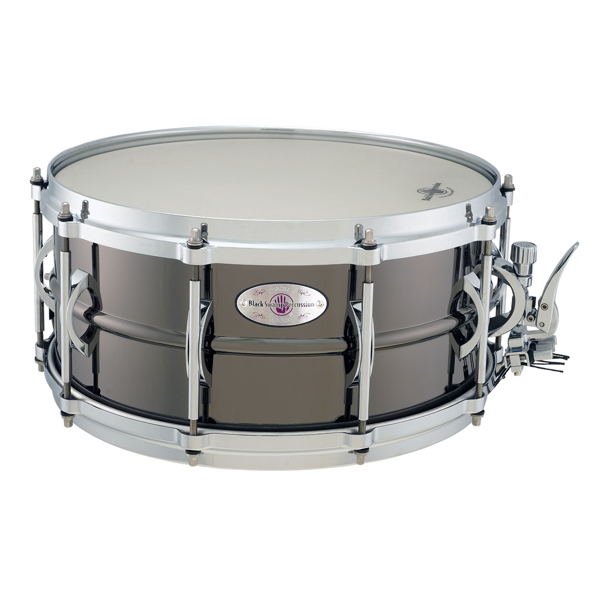 "Black Swamp 6.5"" x 14"" SoundArt Brass Concert Snare Drum"