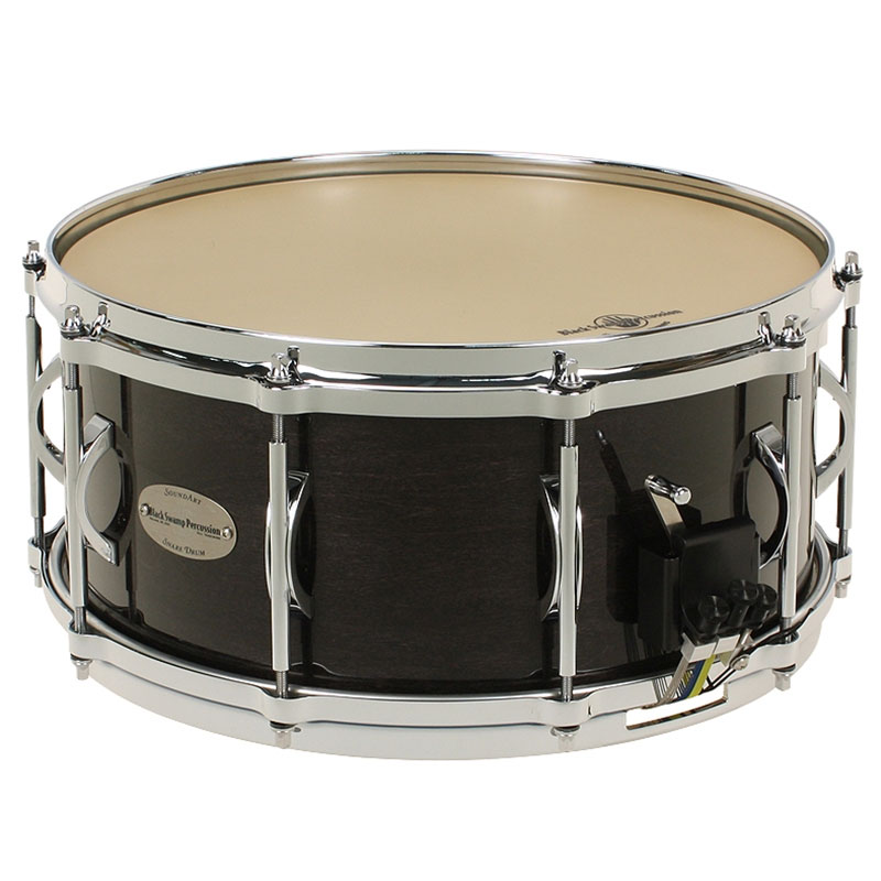 "Black Swamp 6.5"" x 14"" SoundArt Maple Concert Snare Drum with Die-Cast Hoops"