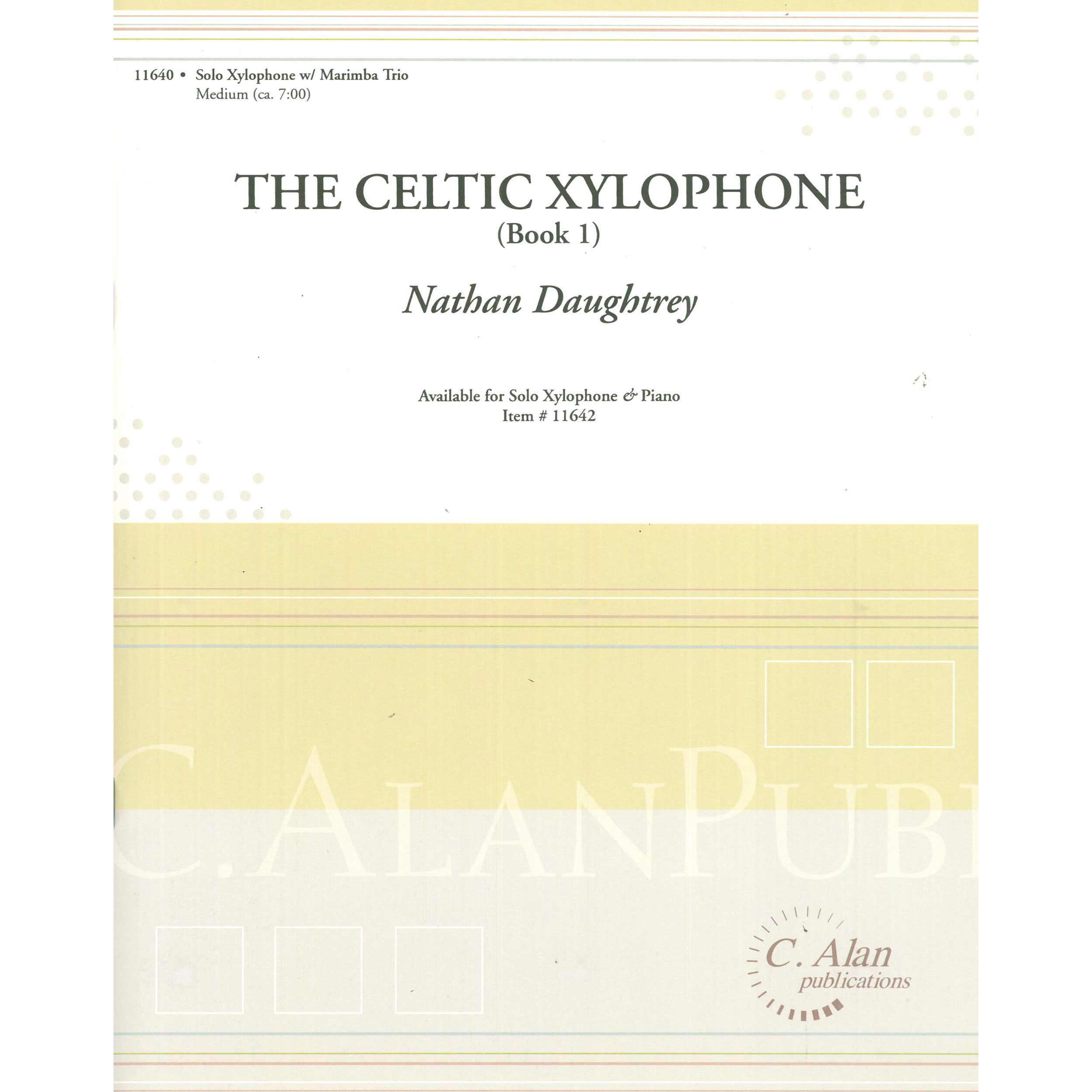 Celtic Xylophone (Book 1) by Nathan Daughtrey
