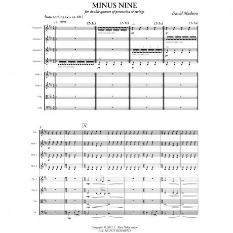 Minus Nine by David Madeira