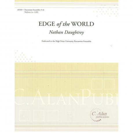 Edge of the World (Percussion Ensemble) by Nathan Daughtrey
