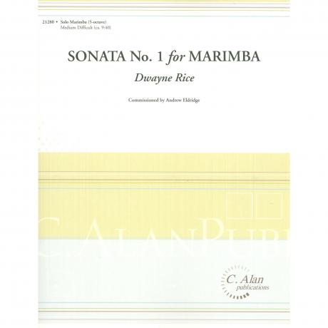 Sonata No. 1 by Dwayne Rice