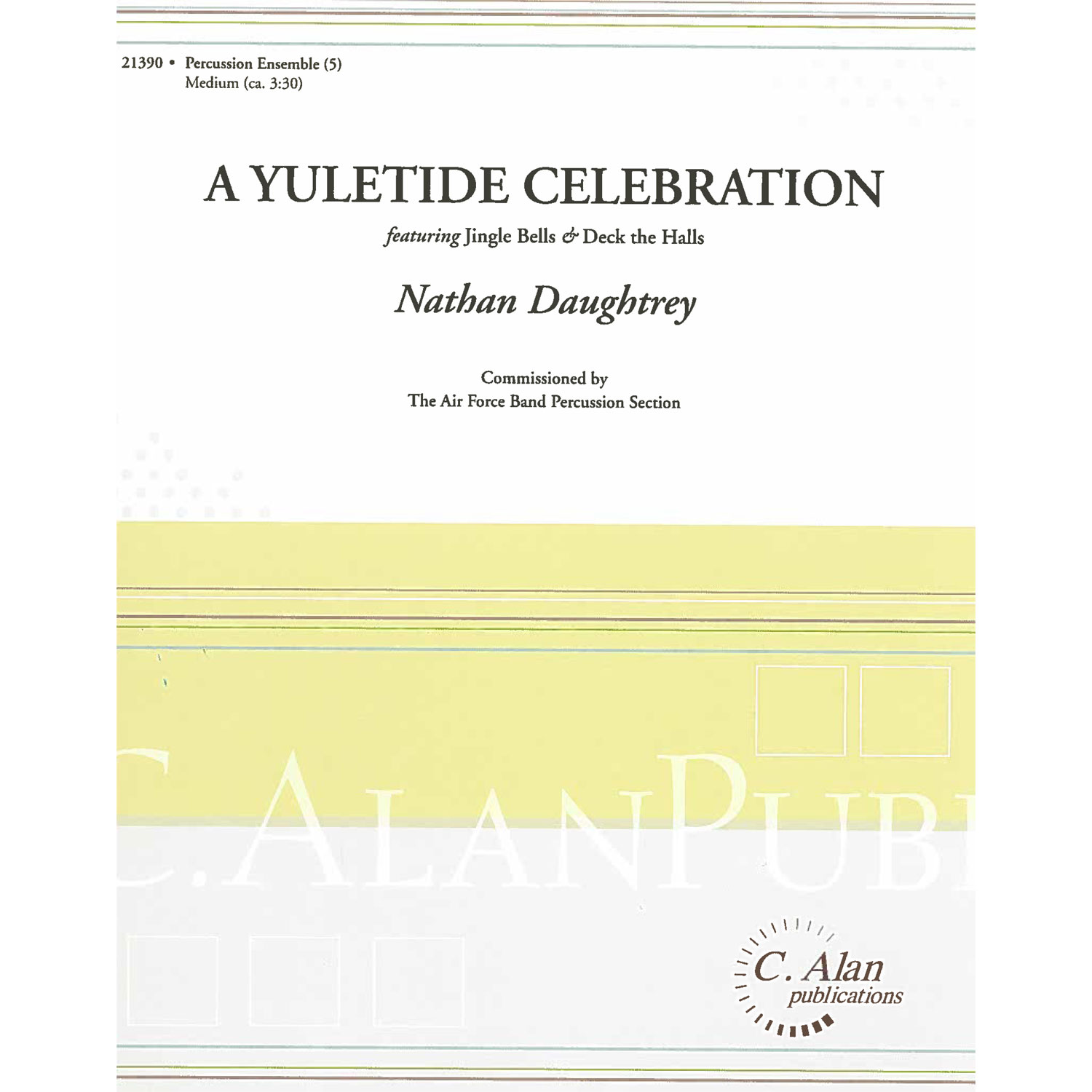 A Yuletide Celebration arr. Nathan Daughtrey