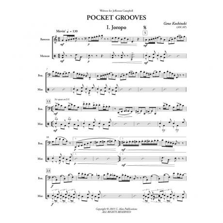Pocket Grooves by Gene Koshinski