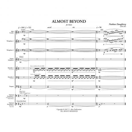 Almost Beyond by Nathan Daughtrey