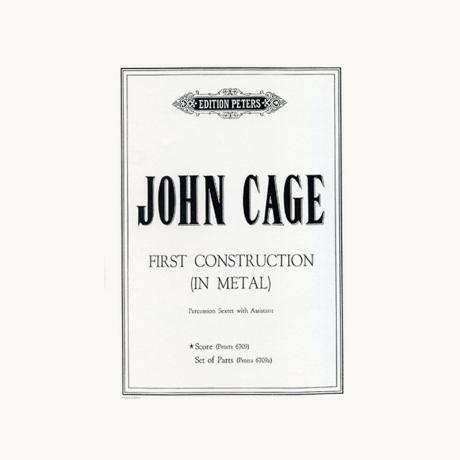 First Construction (In Metal) by John Cage