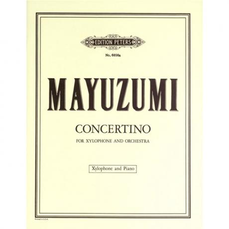 Concertino for Xylophone and Orchestra by Toshiro Mayuzumi