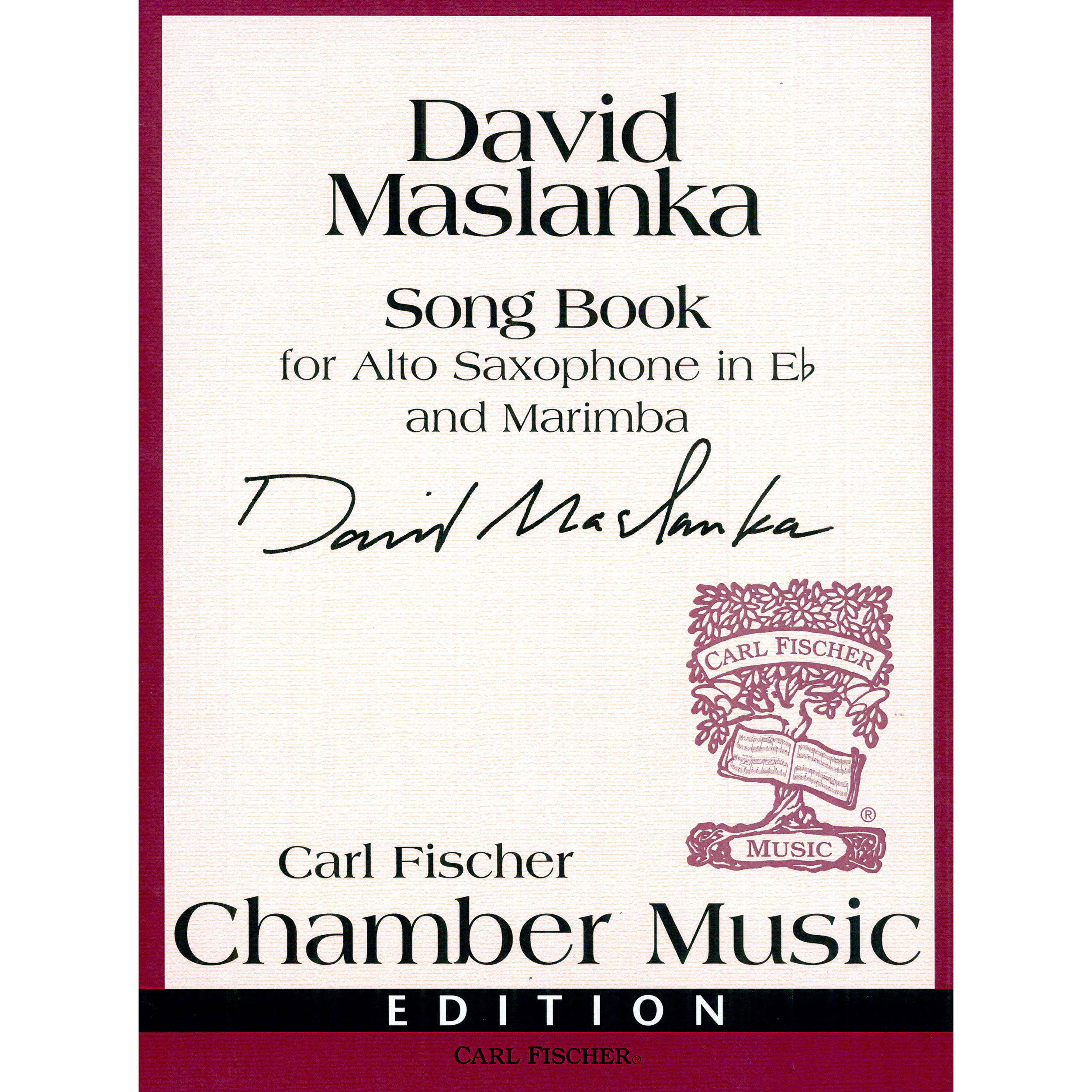 Song Book by David Maslanka