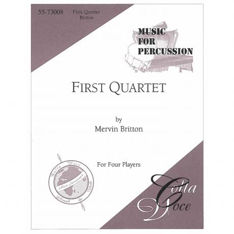 First Quartet by Mervin Britton