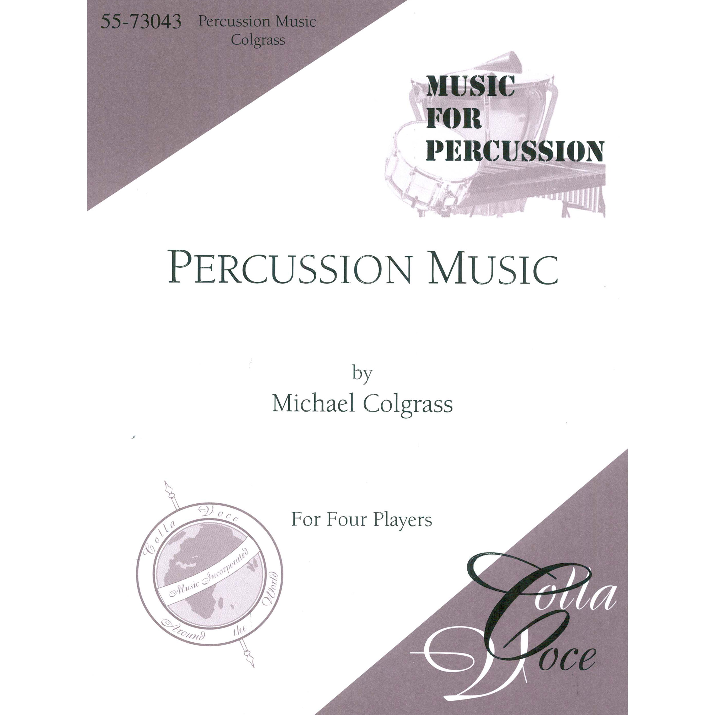 Percussion Music by Michael Colgrass