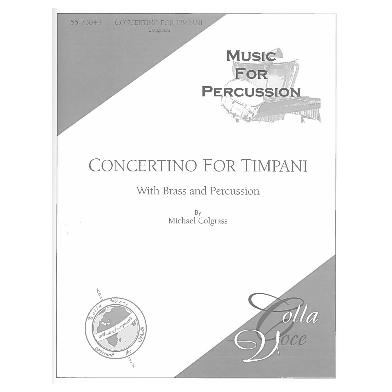 Concertino for Timpani by Michael Colgrass