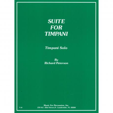 Suite for Timpani by Richard Peterson