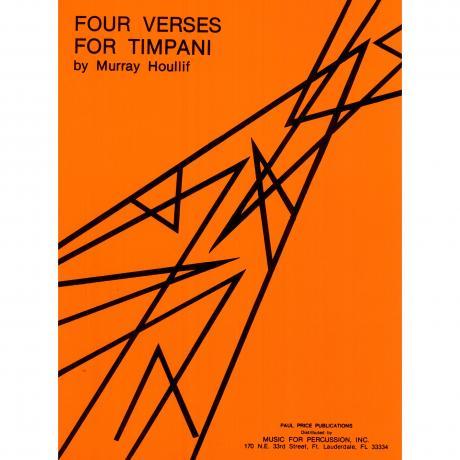Four Verses for Timpani by Murray Houllif