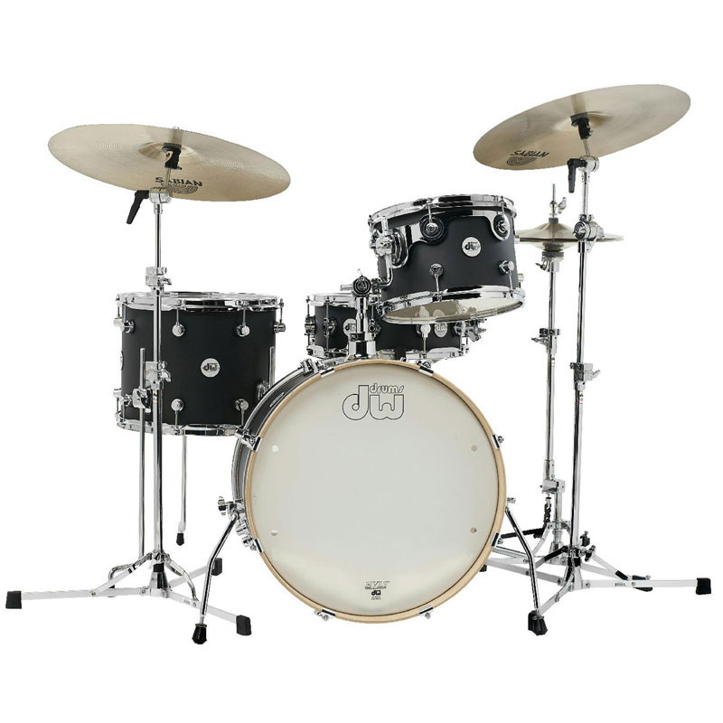 dw design frequent flyer 4piece drum set shell pack 20