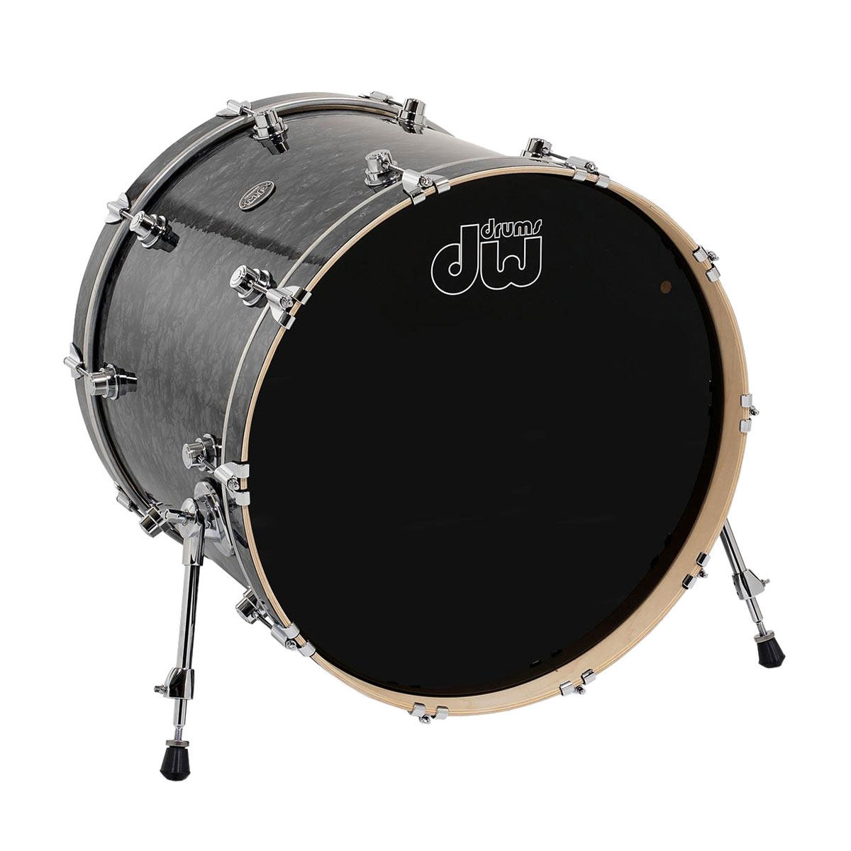 "DW 14"" (Deep) x 18"" (Diameter) Performance Series Bass Drum in FinishPly/Satin Oil Finish"